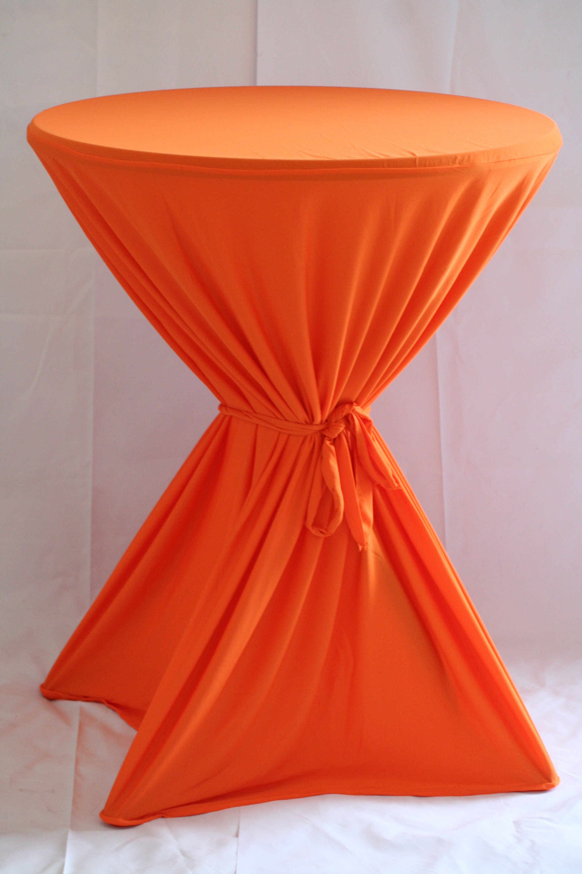 Tafelrok Voor Statafel.Oranje Tafelrok Voor Statafel